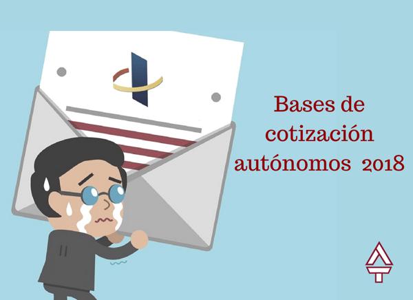 BASES DE COTIZAZIoN AUToNOMOS 2018